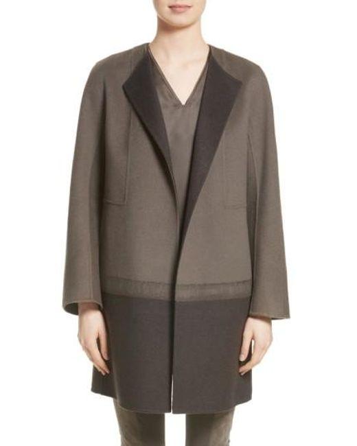 Lafayette 148 New York | Gray Hayes Needle Punch Coat | Lyst