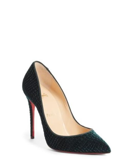 Christian Louboutin | Multicolor Pigalle Follies Pointy Toe Pump | Lyst
