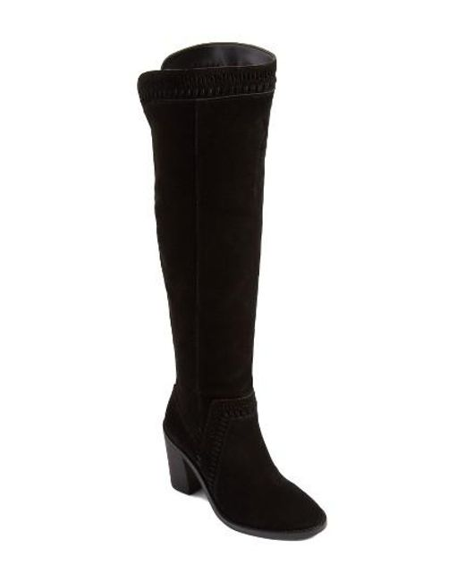 Vince Camuto   Black Madolee Over The Knee Boot   Lyst