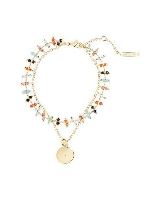 Elizabeth and James | Metallic Rosa Marie Multistrand Bracelet | Lyst