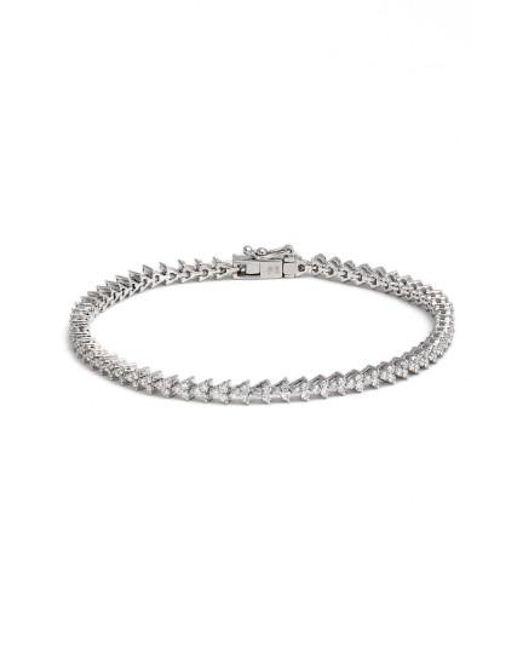 Bony Levy | Metallic Liora Diamond Tennis Bracelet | Lyst