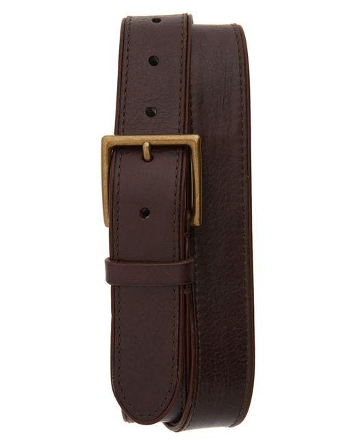 Frye Brown Leather Belt for men