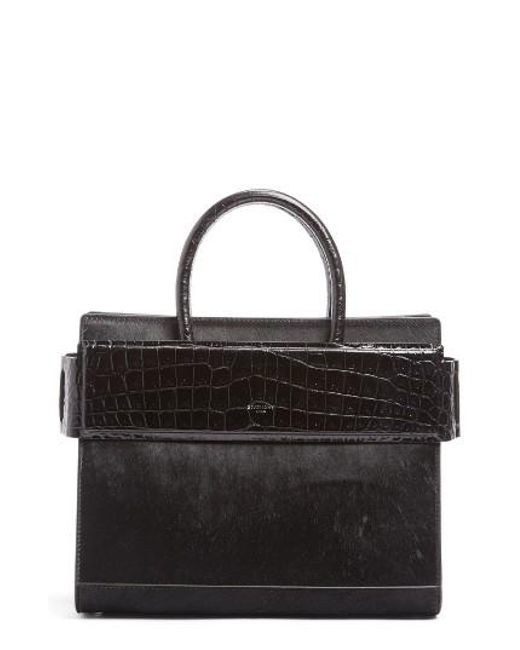 Givenchy | Black Horizon Genuine Calf Hair & Leather Tote | Lyst