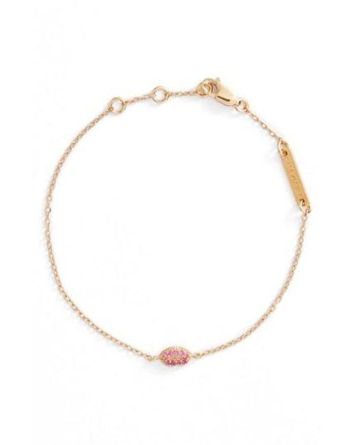 Marc Jacobs   Metallic Lips Line Bracelet   Lyst