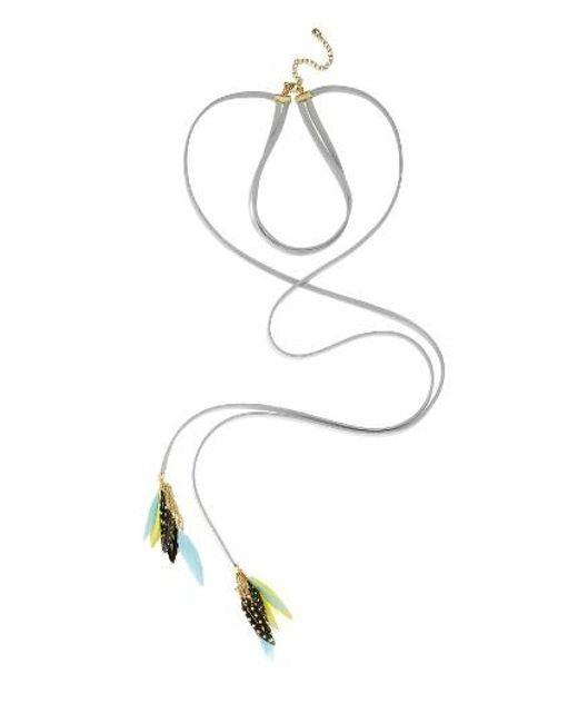 BaubleBar | Multicolor Ravyn Lariat Choker Necklace | Lyst