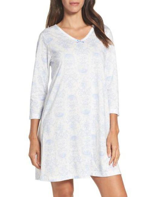Carole Hochman | White Sleep Shirt | Lyst