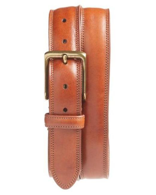Bosca | Multicolor The Jefferson Leather Belt for Men | Lyst