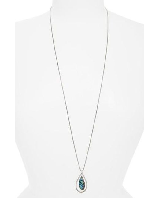 Judith Jack | Metallic Tropical Touches Doublet Pendant Necklace | Lyst