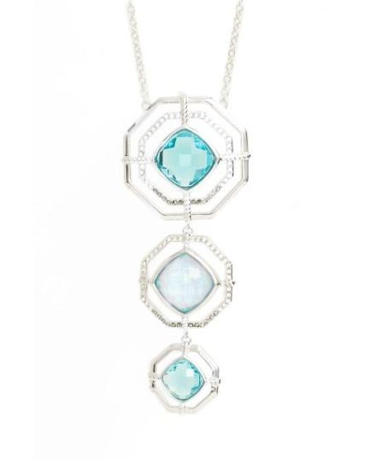 Judith Jack | Metallic Paradise Tiered Pendant Necklace | Lyst