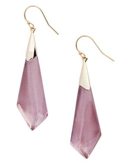Alexis Bittar   Pink Lucite Drop Earrings   Lyst