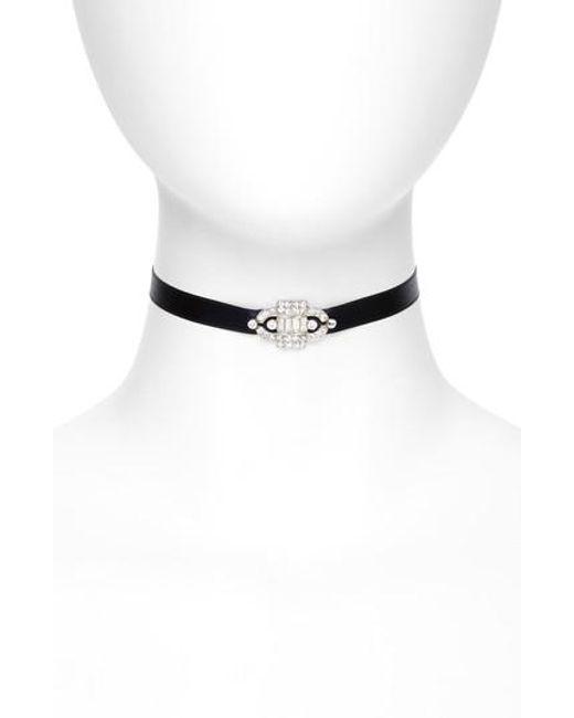 Ben-Amun | Multicolor Deco Satin Choker Necklace | Lyst