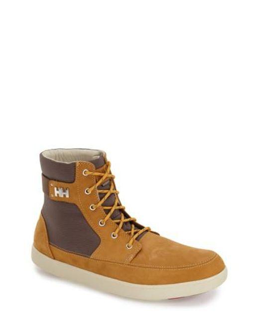 Helly Hansen   Brown 'stockholm' Waterproof High Top Sneaker for Men   Lyst