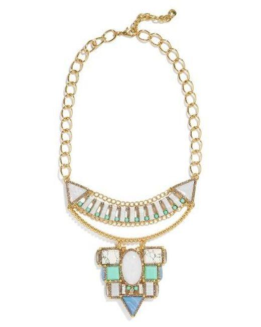 BaubleBar   Metallic Marquessa Statement Necklace   Lyst