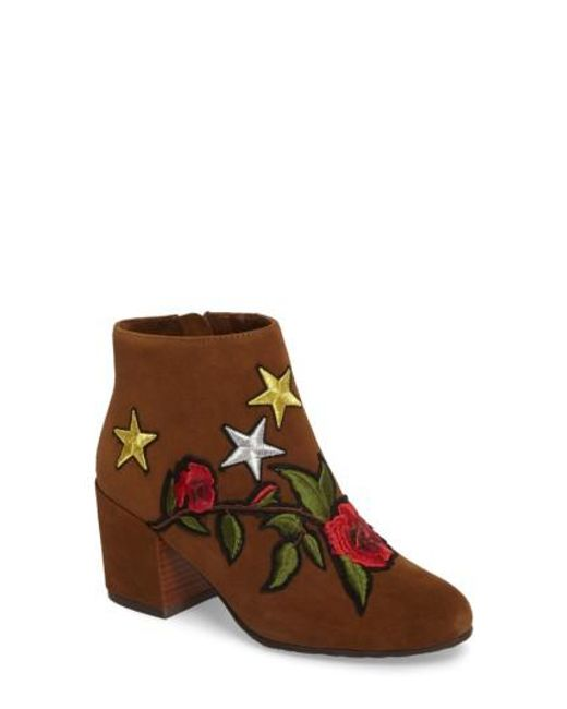 Gentle Souls | Brown Blaise Patches Bootie | Lyst