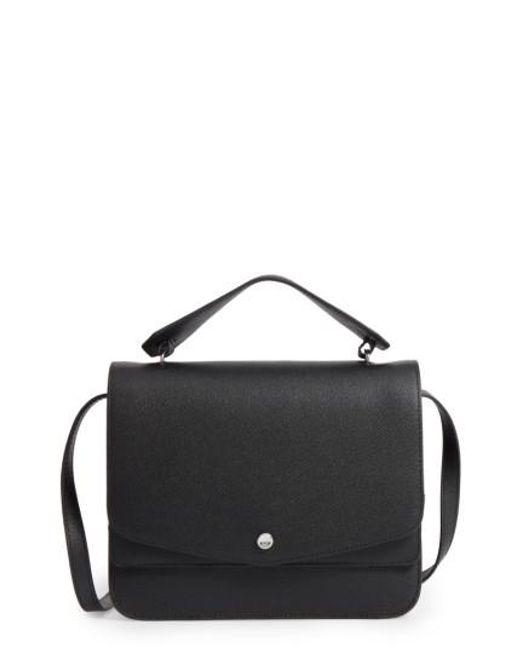 Elizabeth and James | Black Elizabeth & James Eloise Leather Shoulder Bag | Lyst