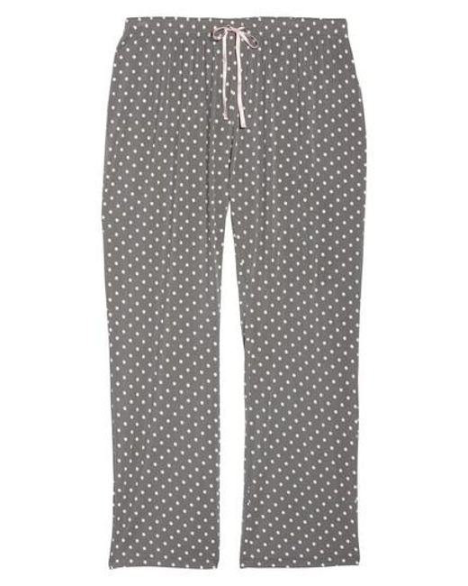 Pj Salvage | Gray Polka Dot Pajama Pants | Lyst