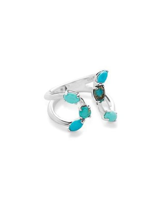 Ippolita | Blue Rock Candy Bypass Ring | Lyst