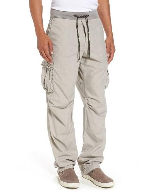 James Perse | Multicolor Contrast Waist Cargo Pants for Men | Lyst