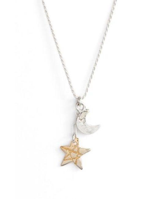 BRITT BOLTON | Metallic Moon & Star Pendant Necklace | Lyst