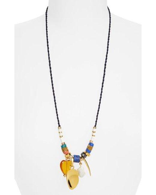 Lizzie Fortunato | Metallic Mombasa Surf Pendant Necklace | Lyst