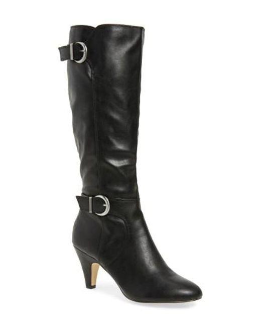 Bella Vita | Black Toni Ii Knee High Boot | Lyst