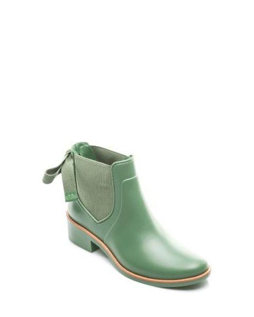 Bernardo | Green Paige Rain Boot | Lyst