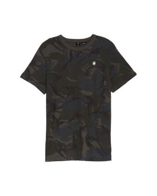 G-Star RAW | Green Bonded T-shirt for Men | Lyst