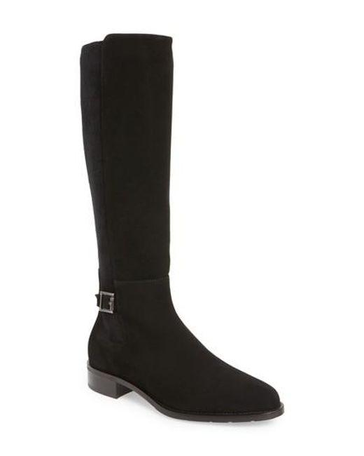 Aquatalia | Black Noella Weatherproof Tall Boot | Lyst