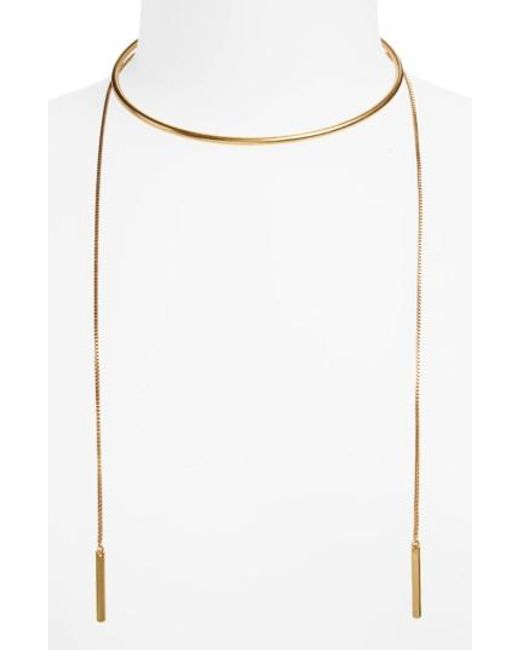 Madewell   Multicolor Chain Choker Necklace   Lyst
