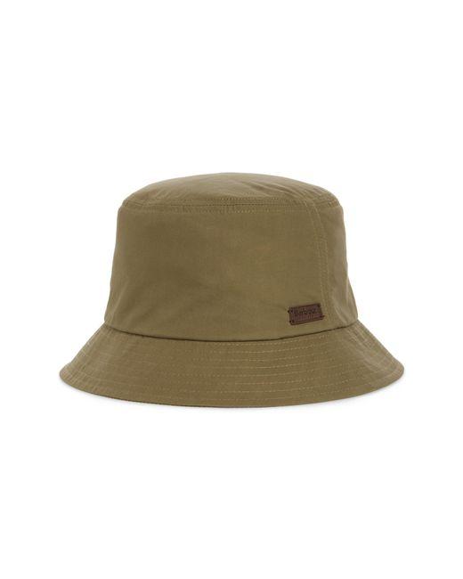 8595c983be4514 Barbour - Green Irvine Wax Bucket Hat for Men - Lyst ...