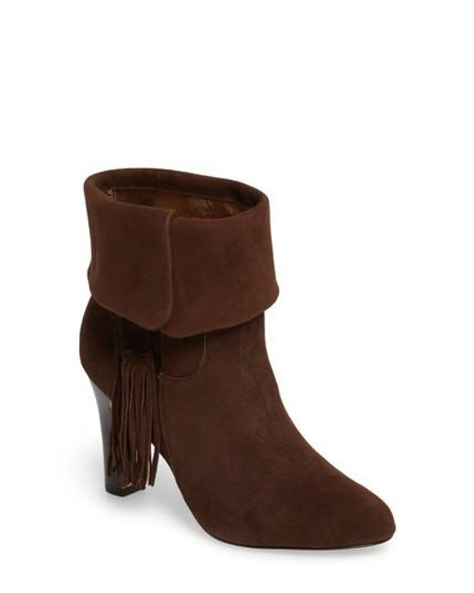 Johnston & Murphy | Brown Keaton Cuff Bootie | Lyst