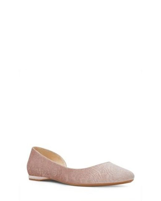 Nine West   Multicolor Spruce D'orsay Flat   Lyst