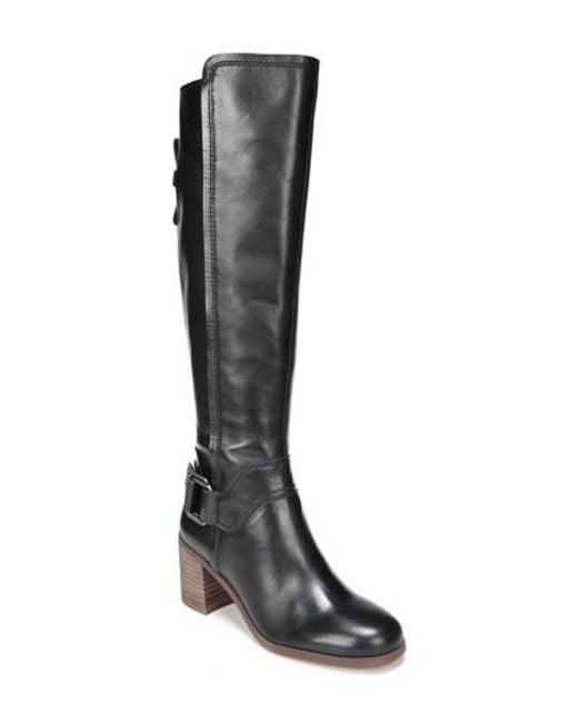 Sarto   Black Mystic Knee High Boot   Lyst