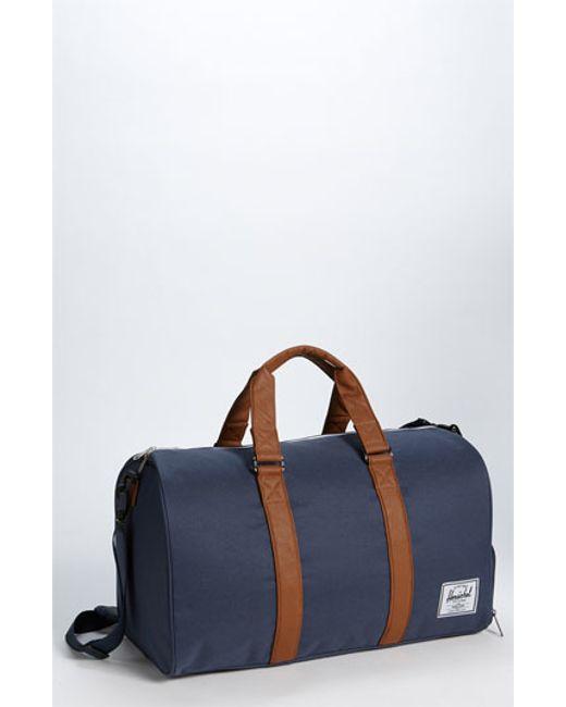 Herschel Supply Co. | Blue 'novel' Duffel Bag for Men | Lyst