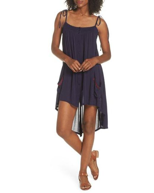 Muche Et Muchette - Blue Olivia Cover-up Dress - Lyst