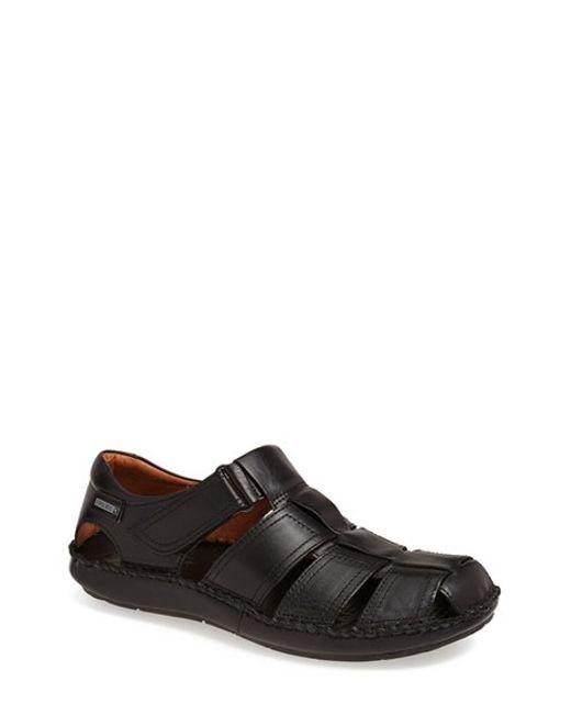 Pikolinos | Black 'tarifa' Sandal for Men | Lyst