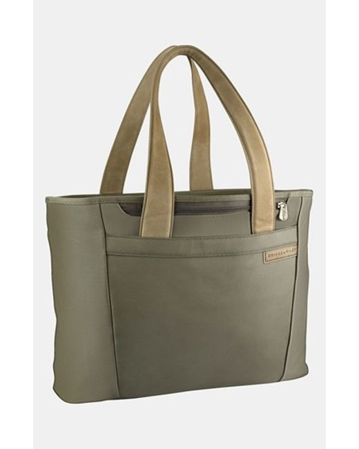 Briggs & Riley | Green 'large Baseline' Shopping Tote for Men | Lyst