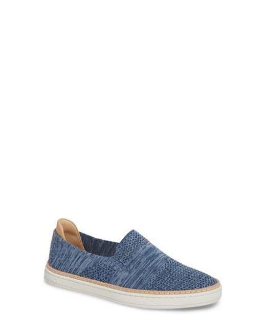 Ugg - Blue Ugg Sammy Sneaker - Lyst