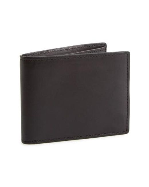 Rag & Bone | Black Hampshire Leather Bifold Wallet for Men | Lyst