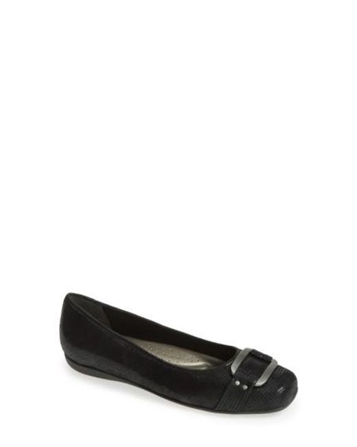 Trotters | Black 'sizzle Signature' Flat | Lyst
