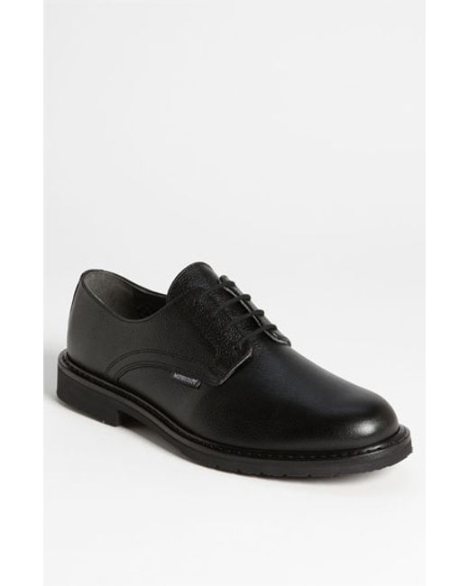Mephisto | Black 'marlon' Derby for Men | Lyst