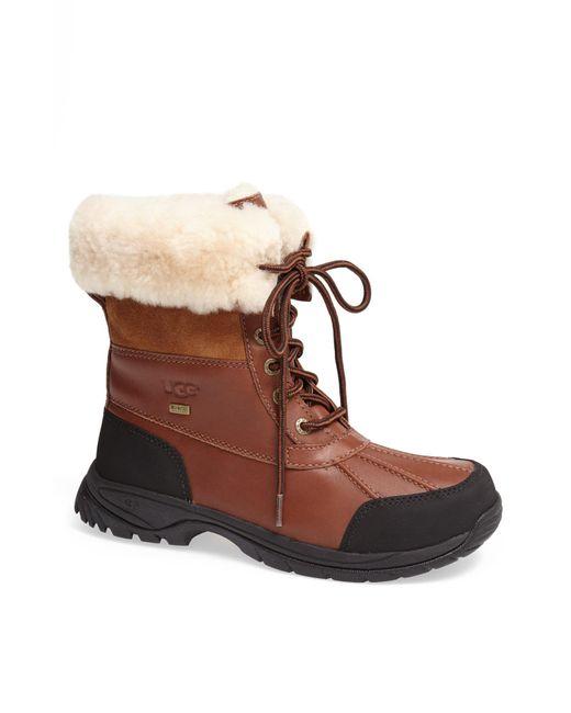 Ugg Brown UGG Butte Waterproof Boot for men