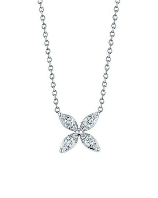 Kwiat | Metallic 'sunburst' Diamond Pendant Necklace | Lyst