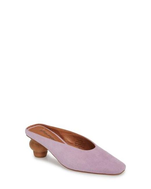 Jeffrey Campbell - Brown Cryptic Statement Heel Mule - Lyst