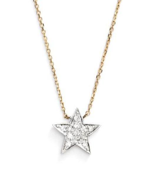 Dana Rebecca | Yellow 'julianne Himiko' Diamond Star Pendant Necklace | Lyst