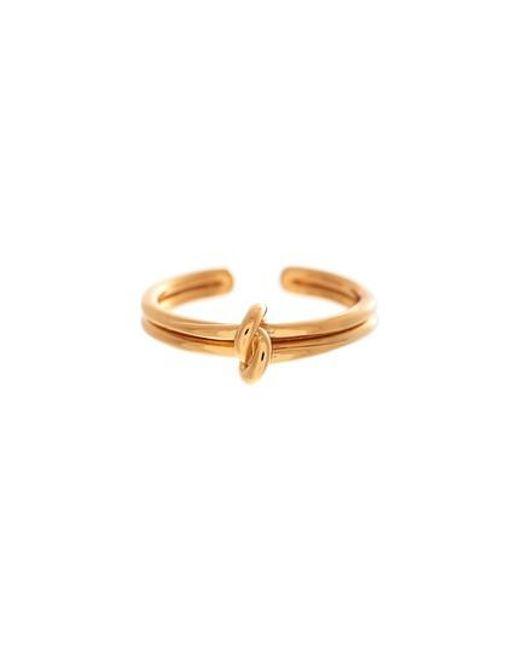 Olivia Burton - Metallic Forget Me Knot Ring - Lyst