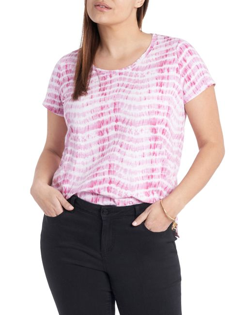 Vince Camuto Pink Sandy Waves T-shirt