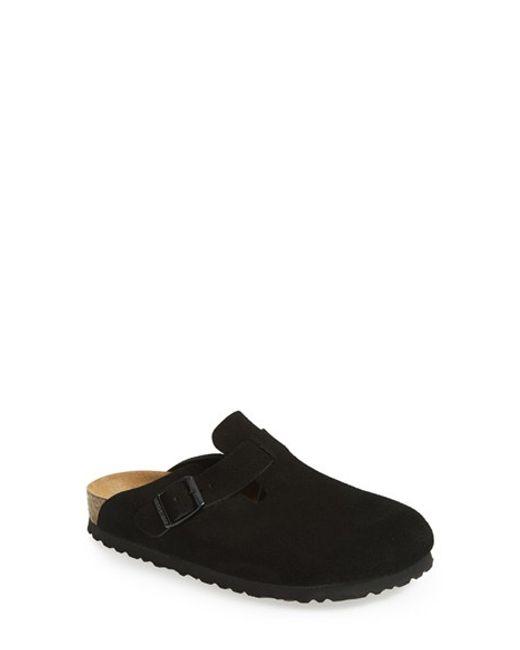 Birkenstock | Black 'boston' Soft Footbed Clog | Lyst