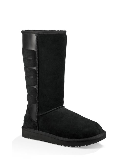 Ugg - Black Ugg Sparkle Classic Tall Boot - Lyst