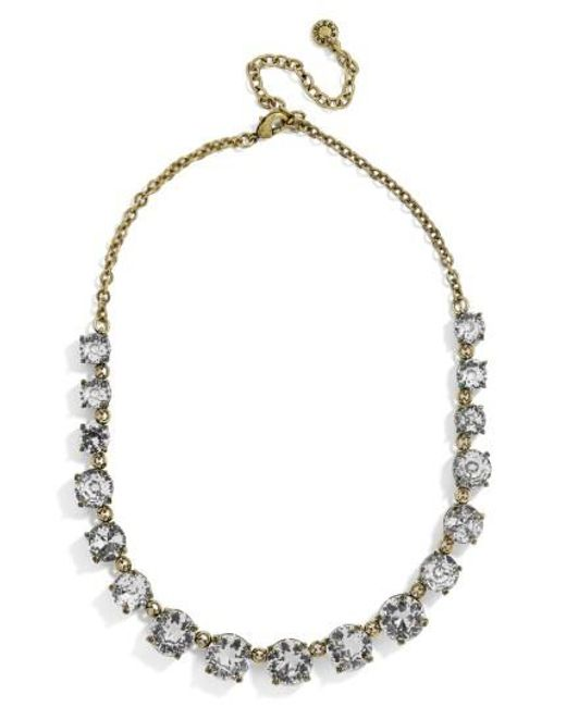 BaubleBar | Gray Crystal Collar Necklace | Lyst
